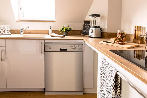 Photo lave-vaisselle pose libre