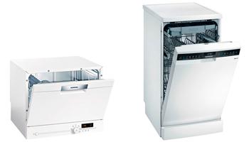photo mini lave-vaisselle et lave-vaisselle 45cm
