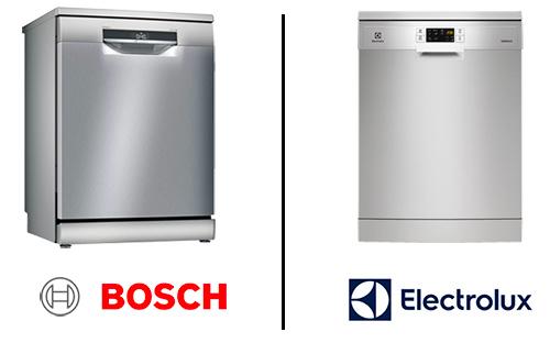 illustration design lave vaisselle Bosch et Electrolux