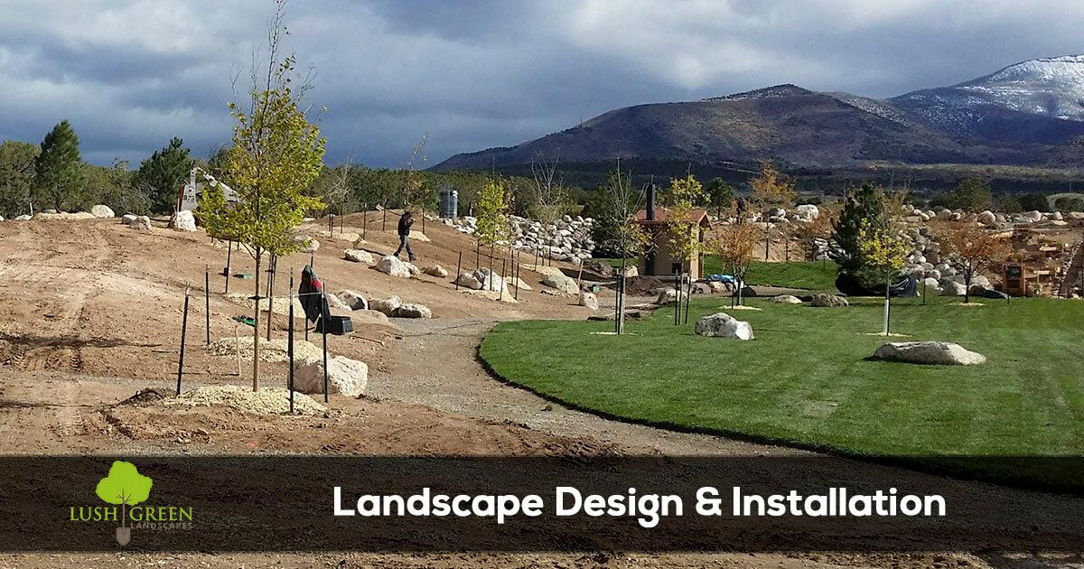 Grand Junction Colorado landscape design and installation services