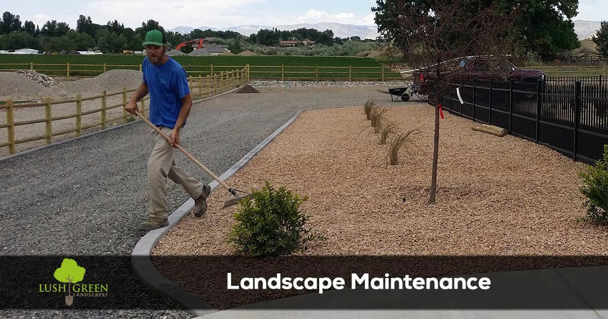 Grand Junction Colorado lawn and landscape maintenance services company
