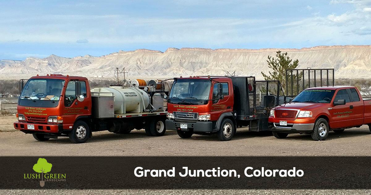 lawn and landscape services in Grand Junction Colorado