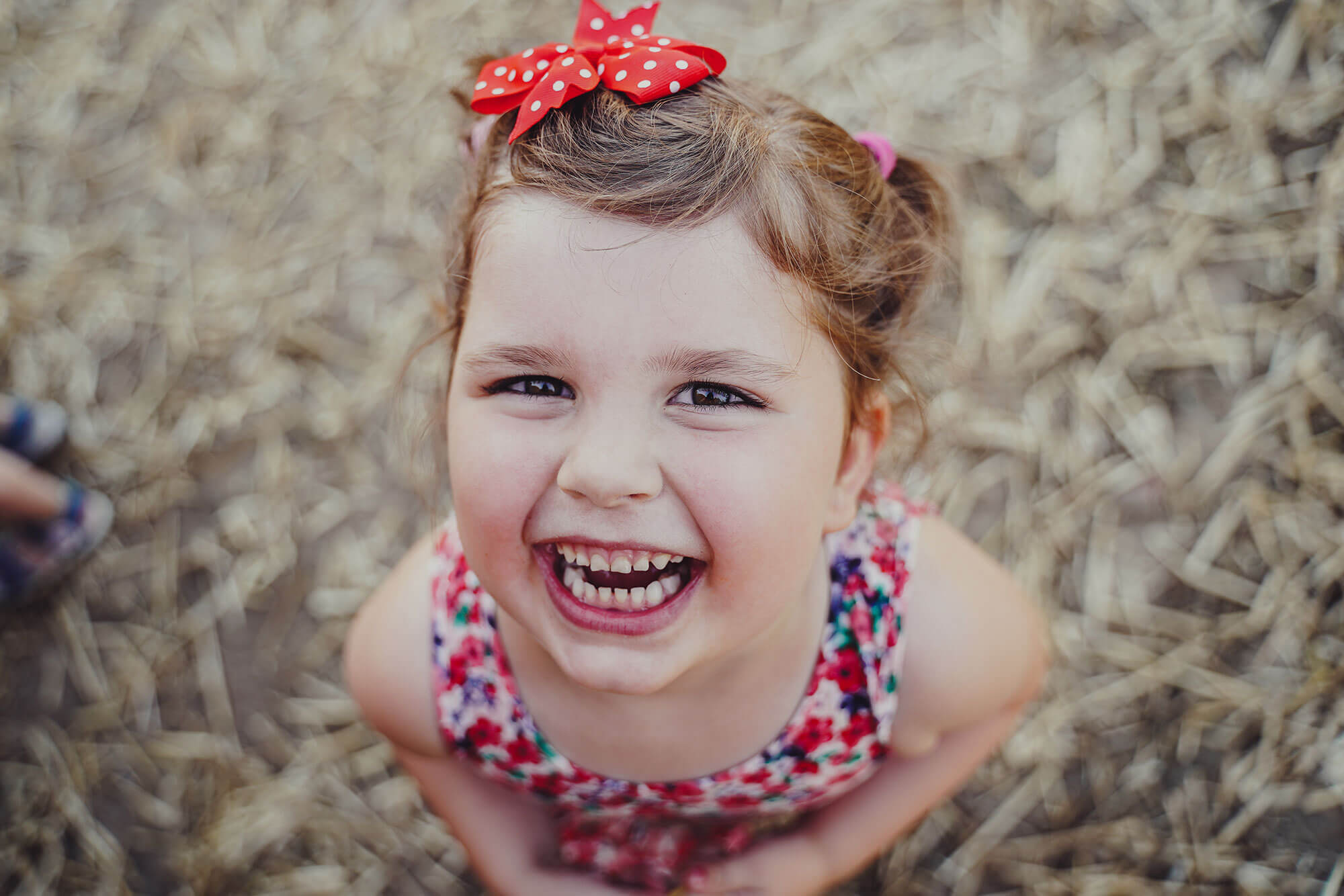 Kinder lieben es zu lachen