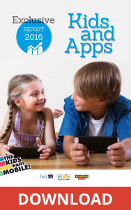 Report 2016: Kids and Apps