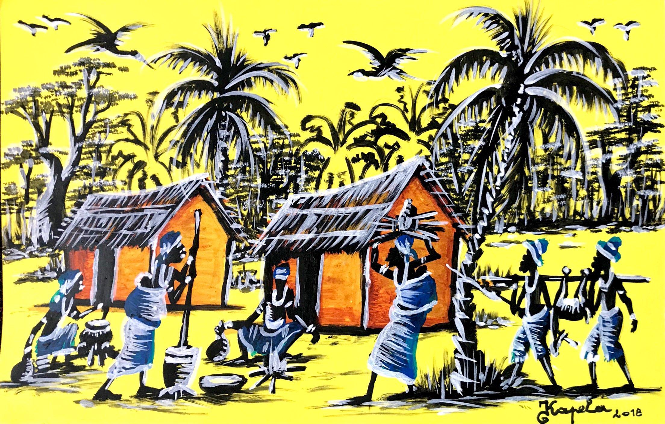 Kapela homenageia Escola Poto-Poto no Espaço Luanda Arte