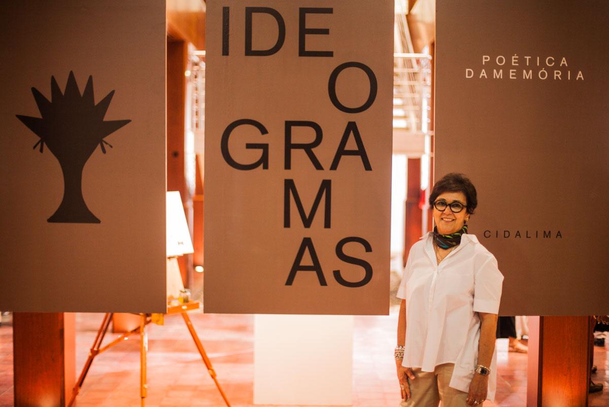 """Descubra as """"memórias"""" dos """"Ideogramas"""" de Cida Lima"""
