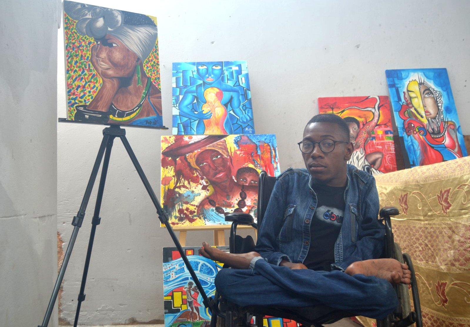 Artista Alberto Moma ganha homenagem pela sua história de superação
