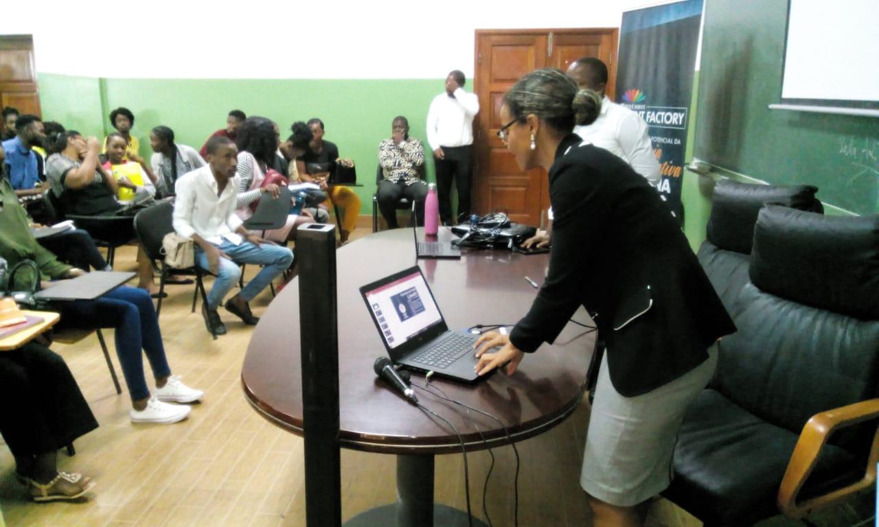 Estudantes da Unia informados sobre a MultiChoice Talent Factory 2019