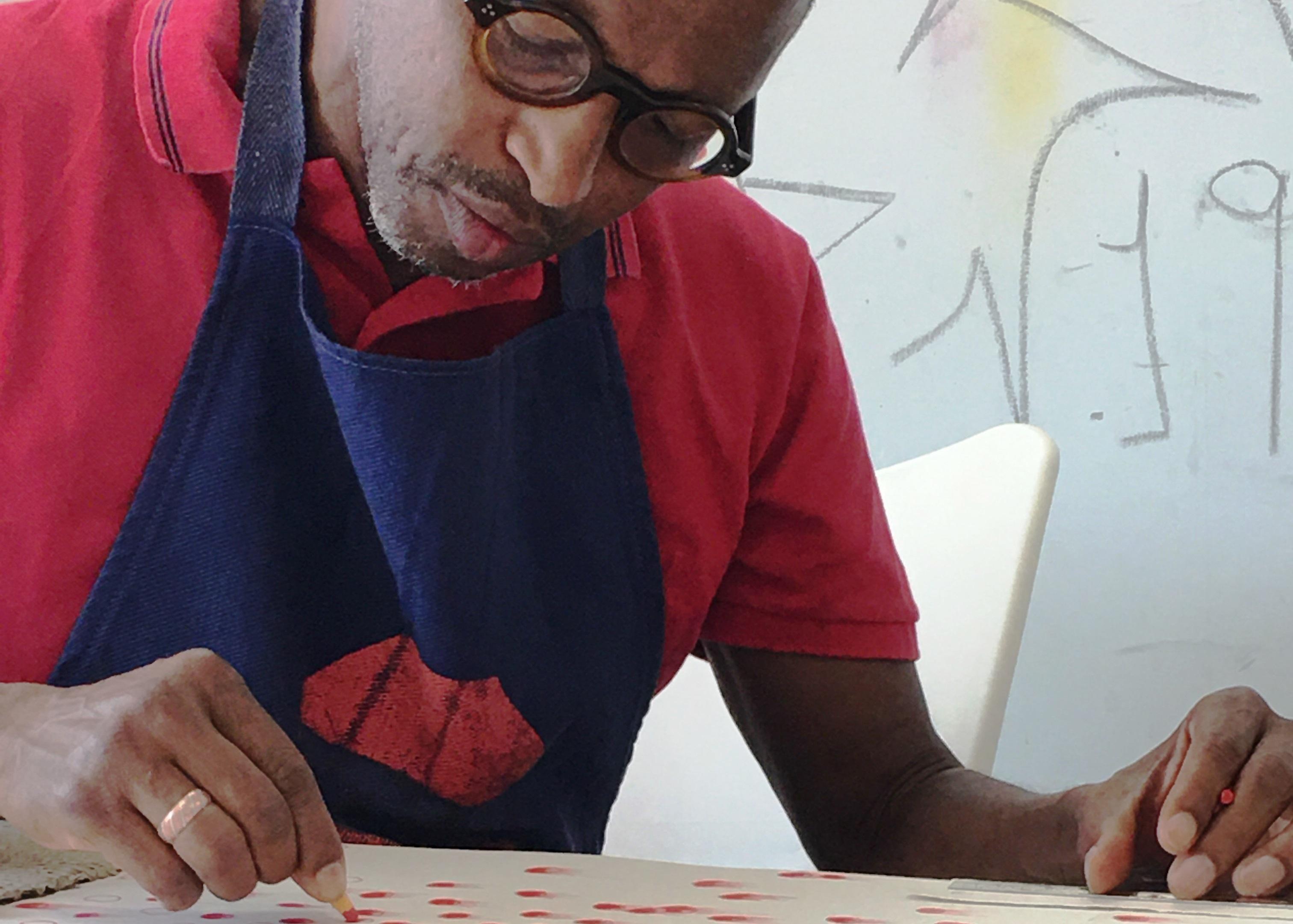 Nú Barreto realiza atelier aberto no Espaço Luanda Arte