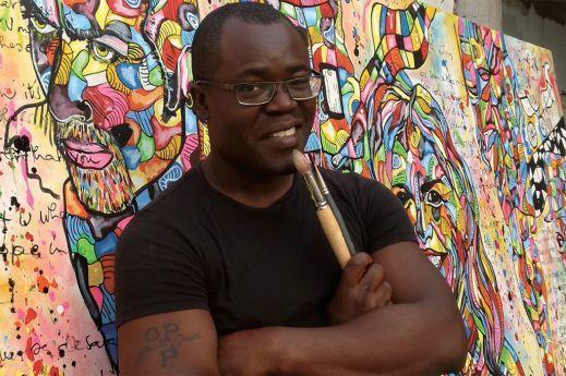 Guilherme Mampuya prepara museu de arte no Zango I