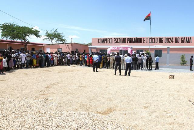 Rise Angola já construiu pelo menos 154 escolas desde 2003