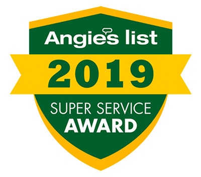Winner of Angie's List Super Service Award in 2018