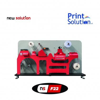 immagine soluzione di finitiura automatica per etichette NS22