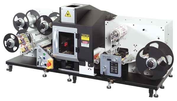 sistema di finitura per Etichette con taglio laser Any-Cut