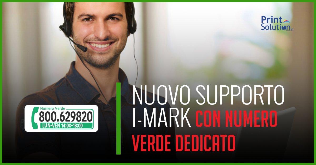 nuovo supporto tecnico dedicato i-mark