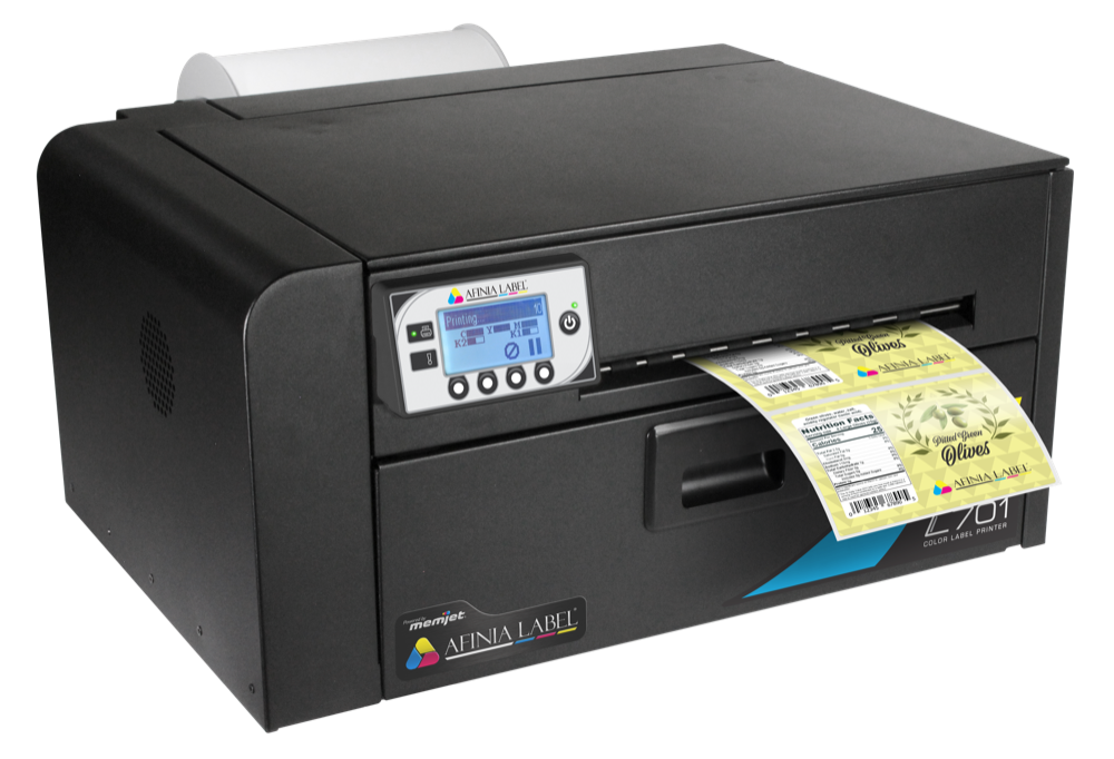 colour label printer