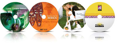Disc Publisher printed CDs