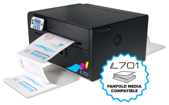 Afinia Label L701 Digital Color Fanfold Label Printer