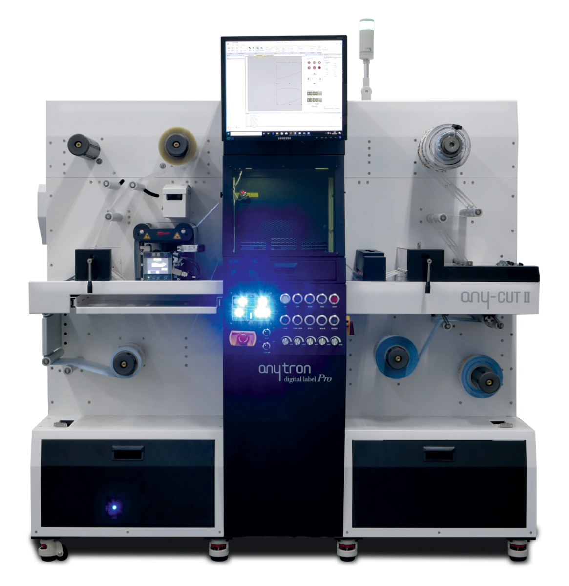sistema di finitura per Etichette con taglio laser Any-Cut2