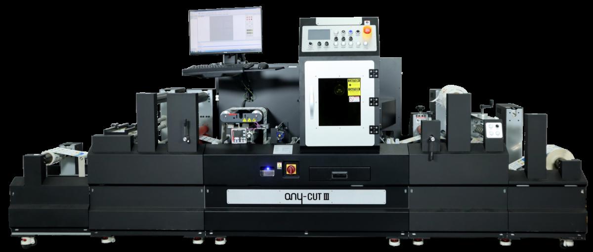 sistema di finitura per Etichette con taglio laser Any-Cut3
