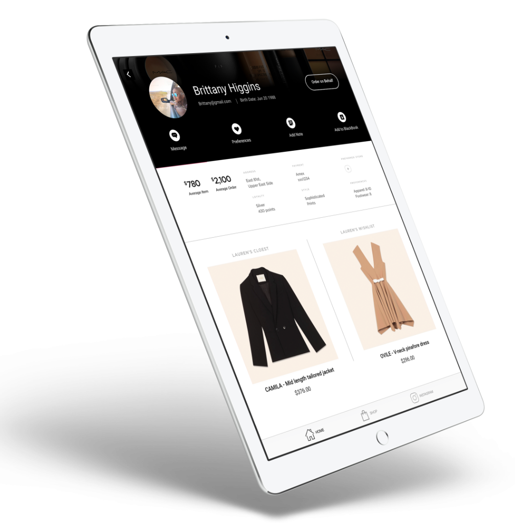 Mobile Clienteling App for Retailer | PredictSpring
