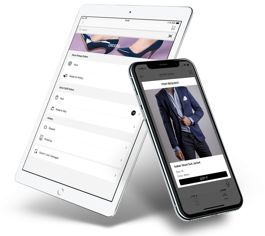 PredictSpring Retail Store Order Fulfillment App for Store Associates