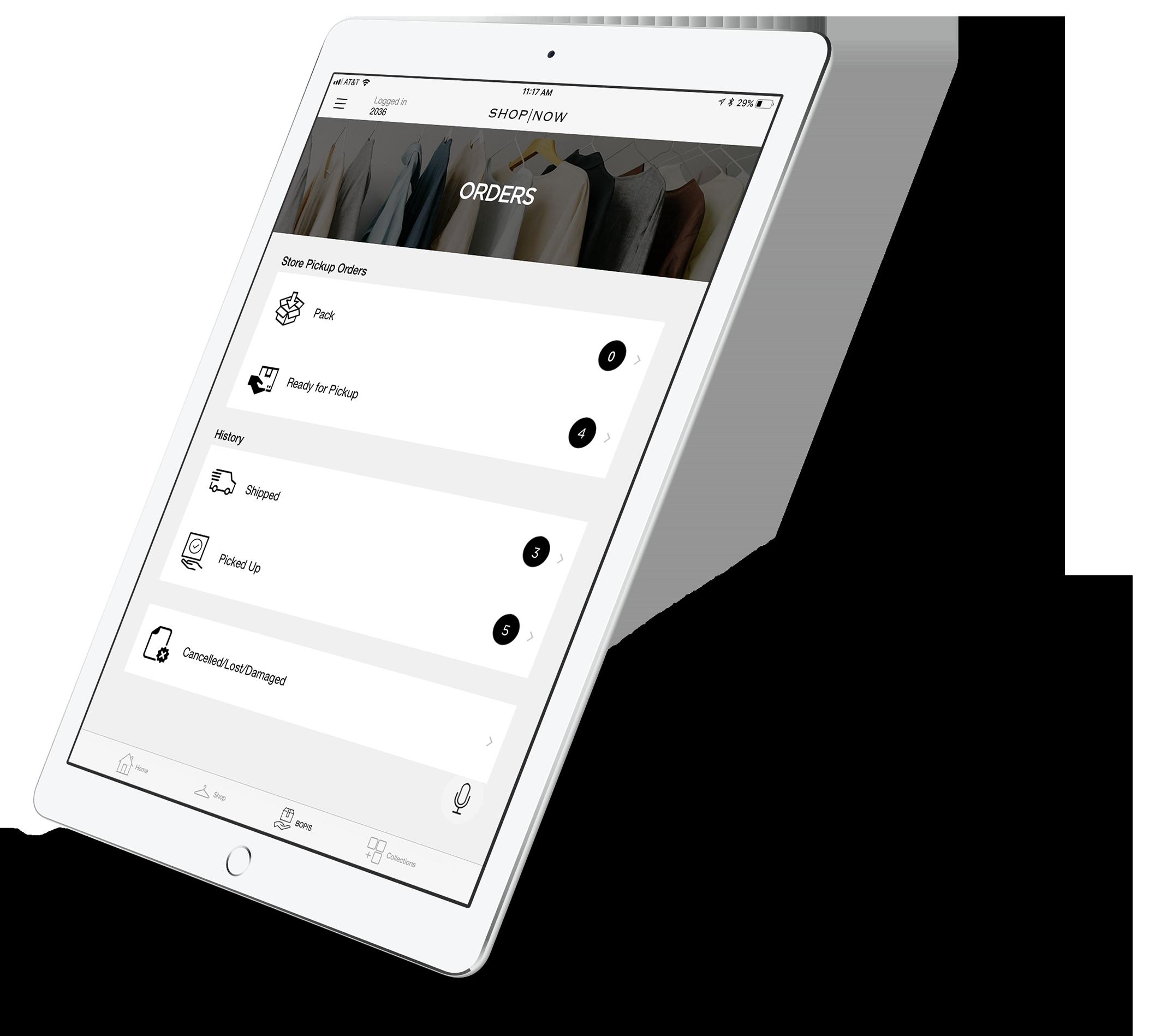 BOPIS App for Retail Associates by PredictSpring