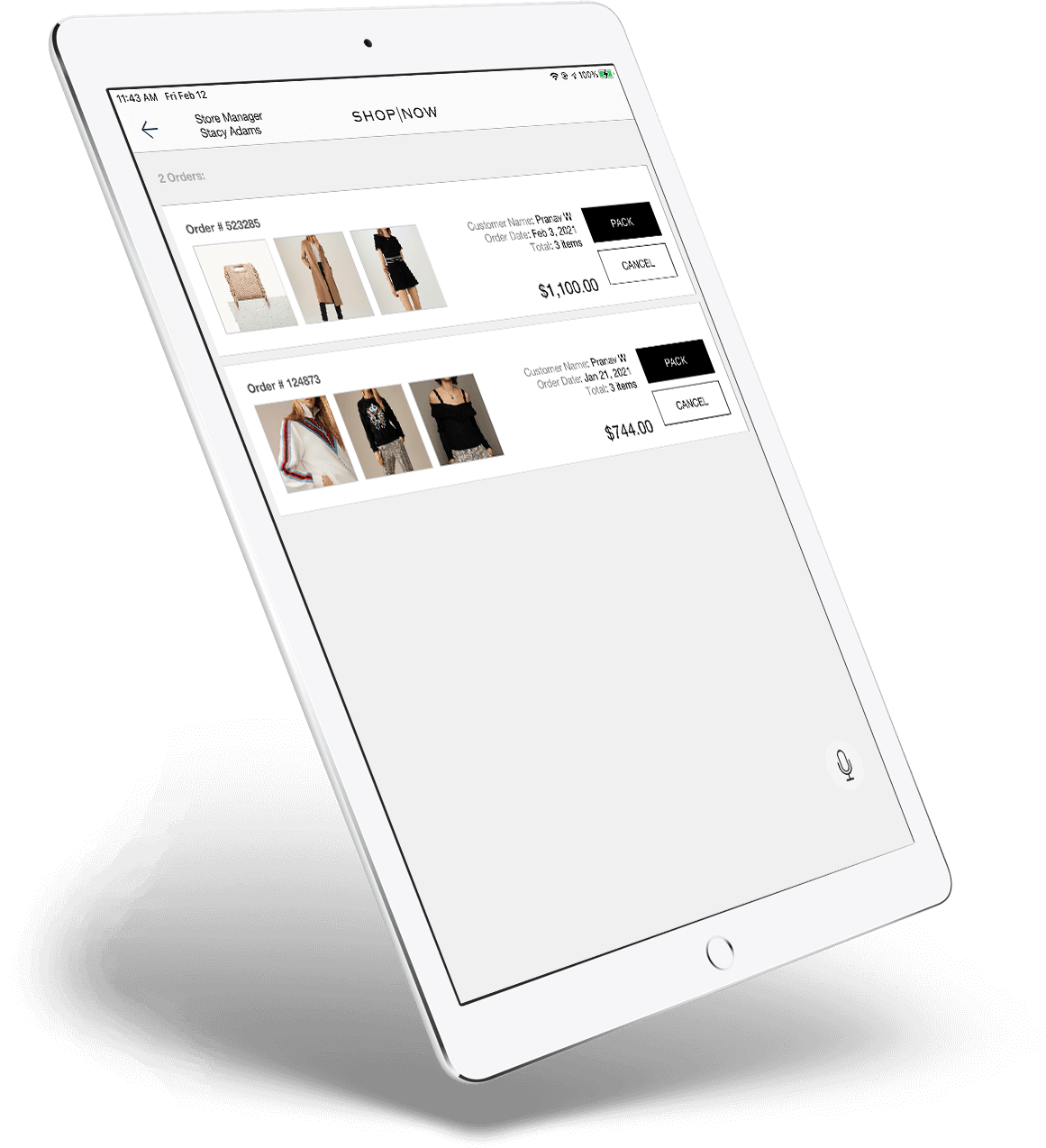 Cole Haan Native Mobile App - Product Detail Page with ApplePay - App Powered By PredictSpring