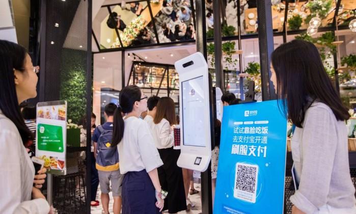 Alibaba testa pagamento por reconhecimento facial