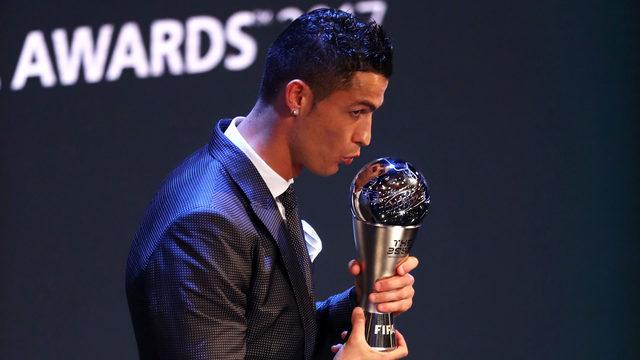 Cristiano Ronaldo melhor do mundo pela 5ª vez