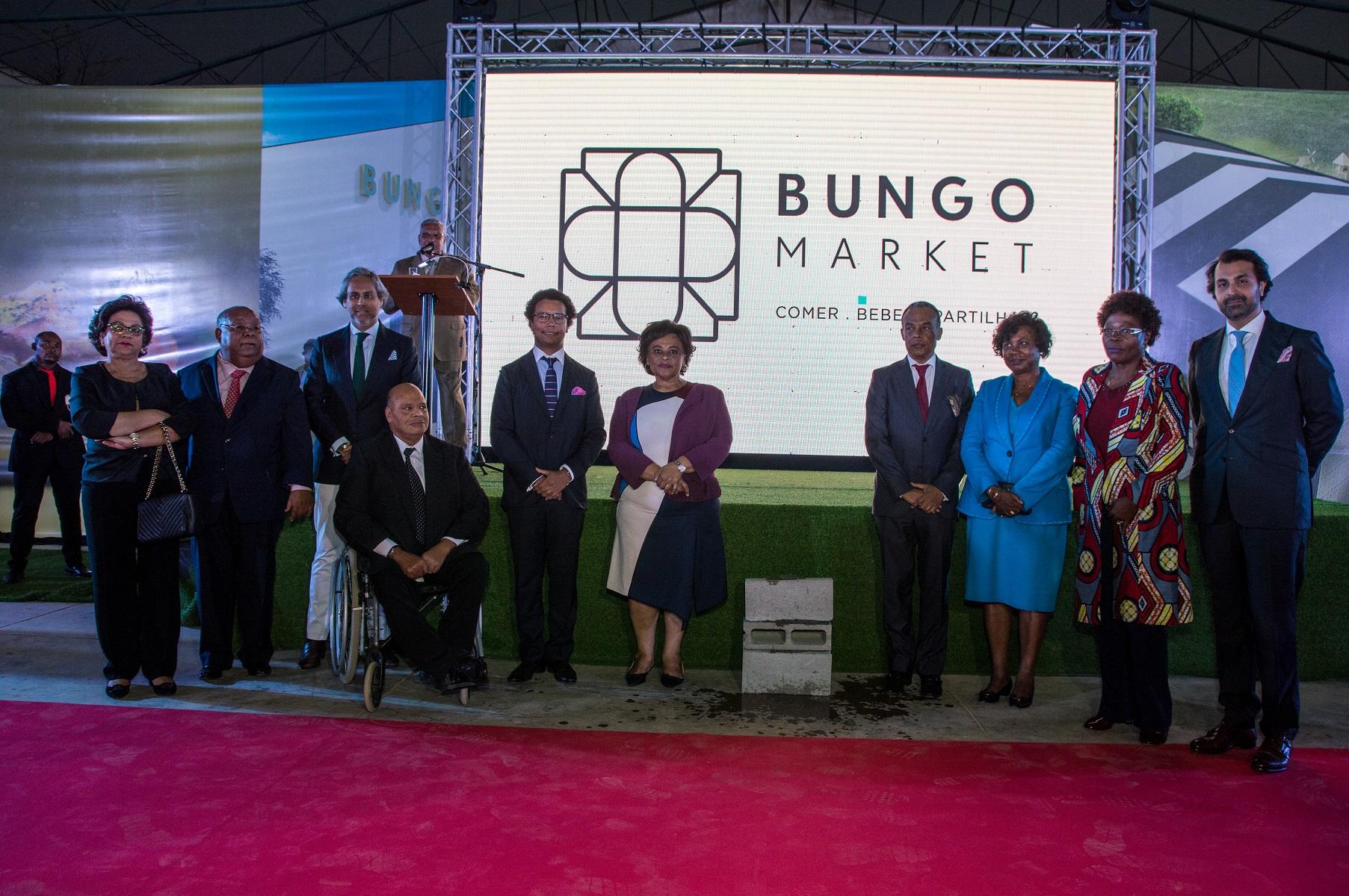 Lançada primeira pedra do Bungo Market