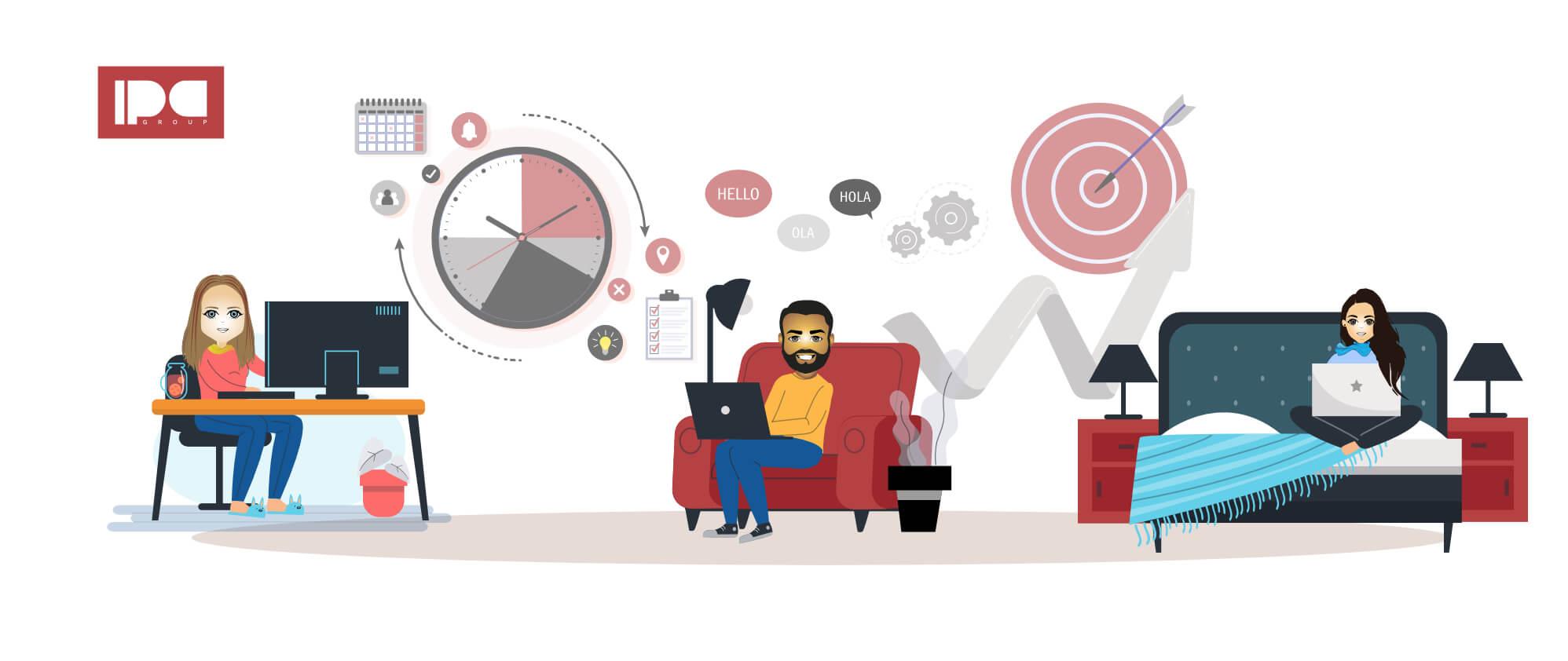 Protocolo de juntas webinars y entrevistas de trabajo remoto