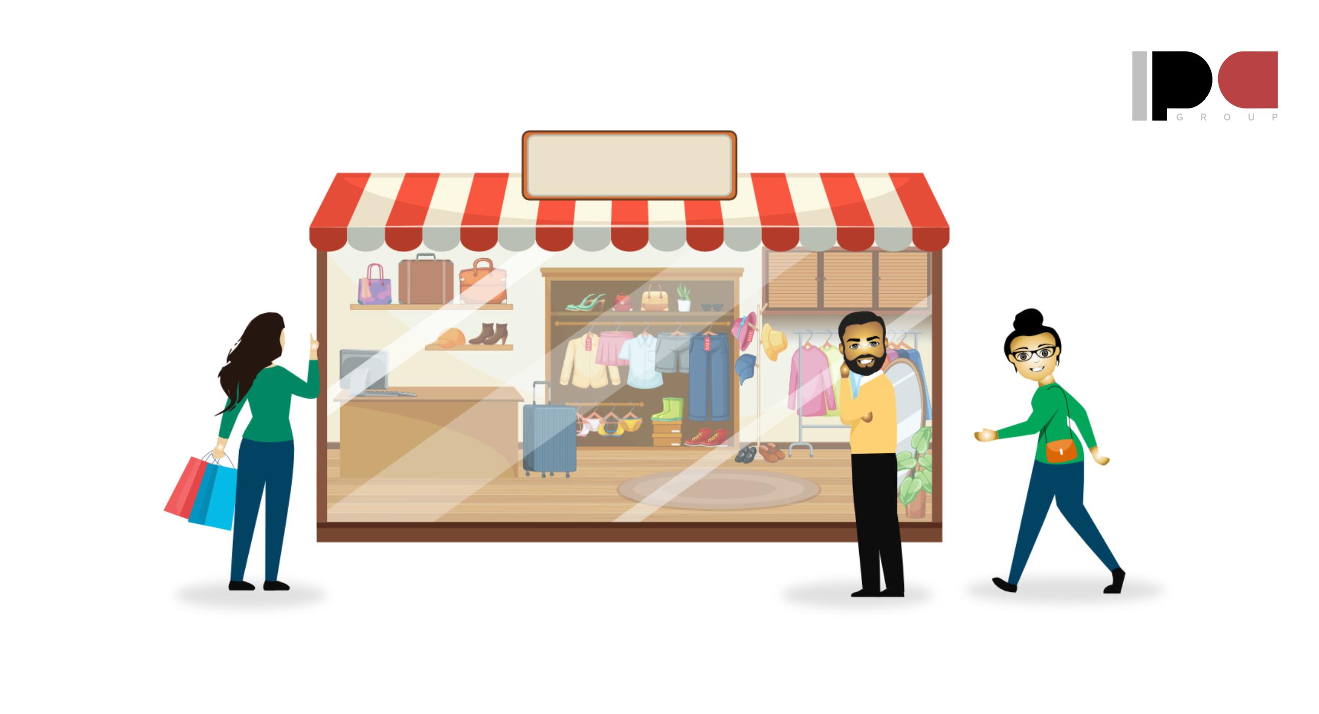 Compas en locales y tiendas