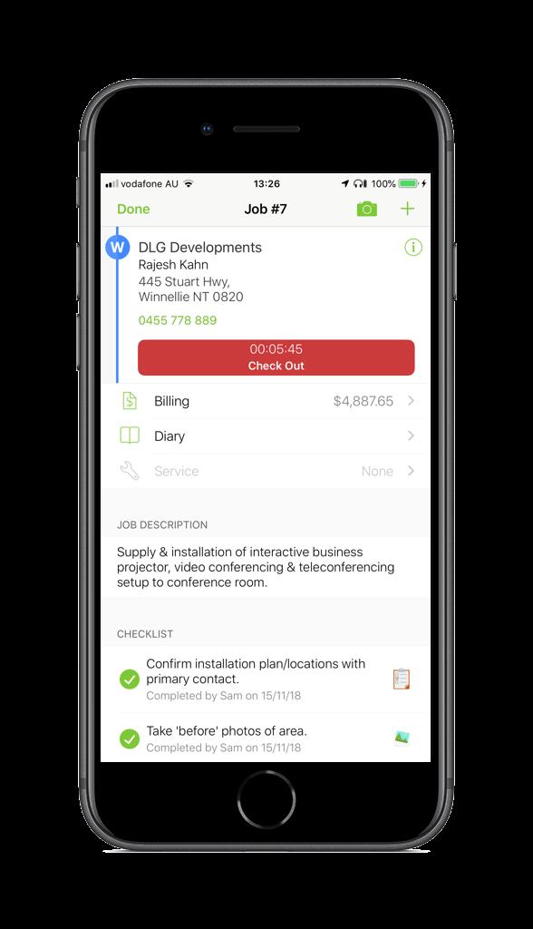 App For IT, AV & Communications Businesses