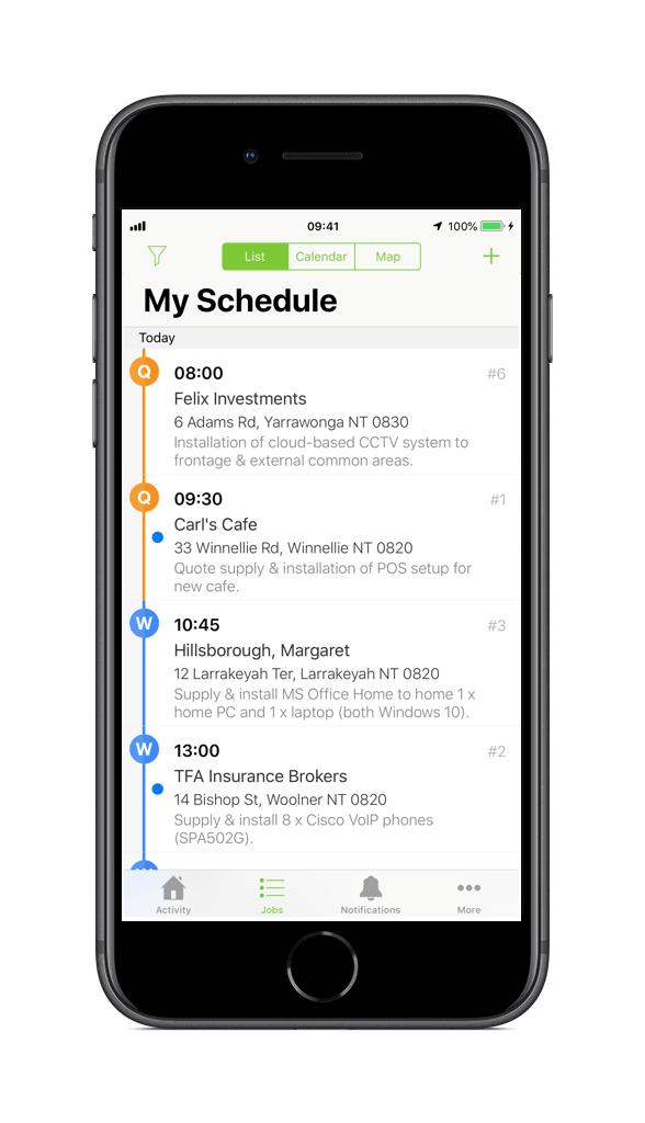 IT, AV & Communications Scheduling Software