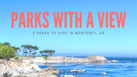 park with views in Monterey, CA