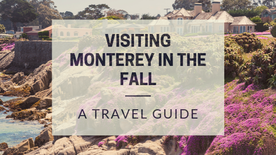 visiting Monterey, CA during the Fall