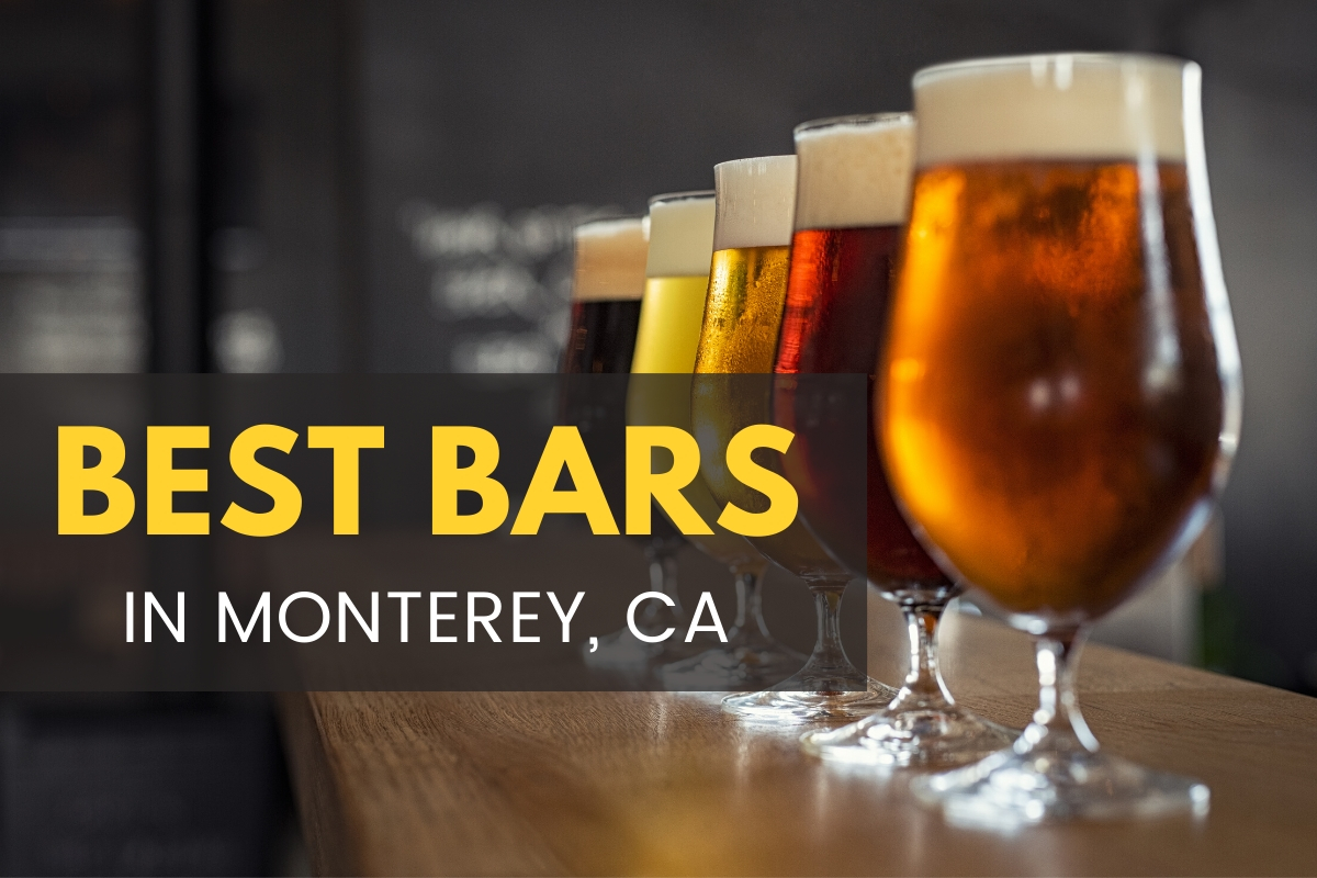 Different types of beer - Best Bars in Monterey California