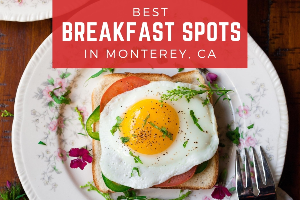 Breakfast toast with a fried egg on top - Best Breakfast Spots in Monterey