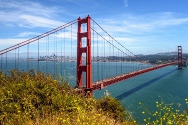View of the Golden Gate, San Francisco