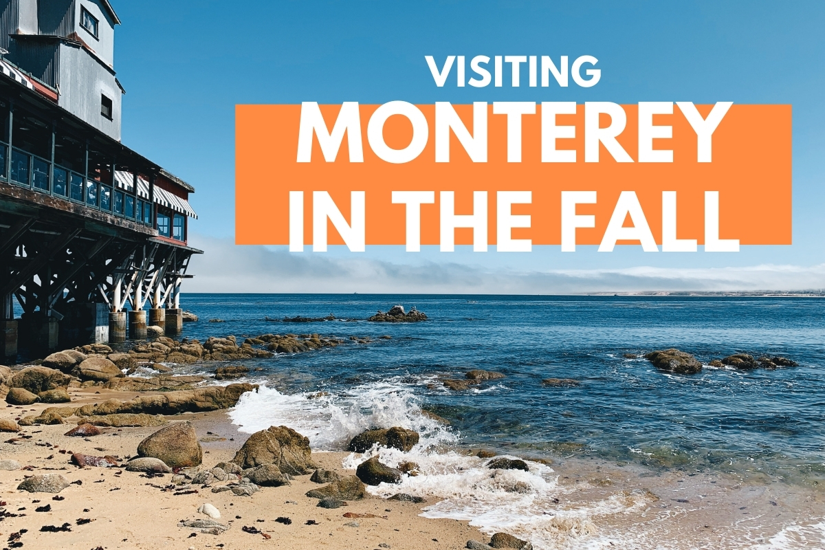 Monterey Beach View - Visiting Monterey in the Fall