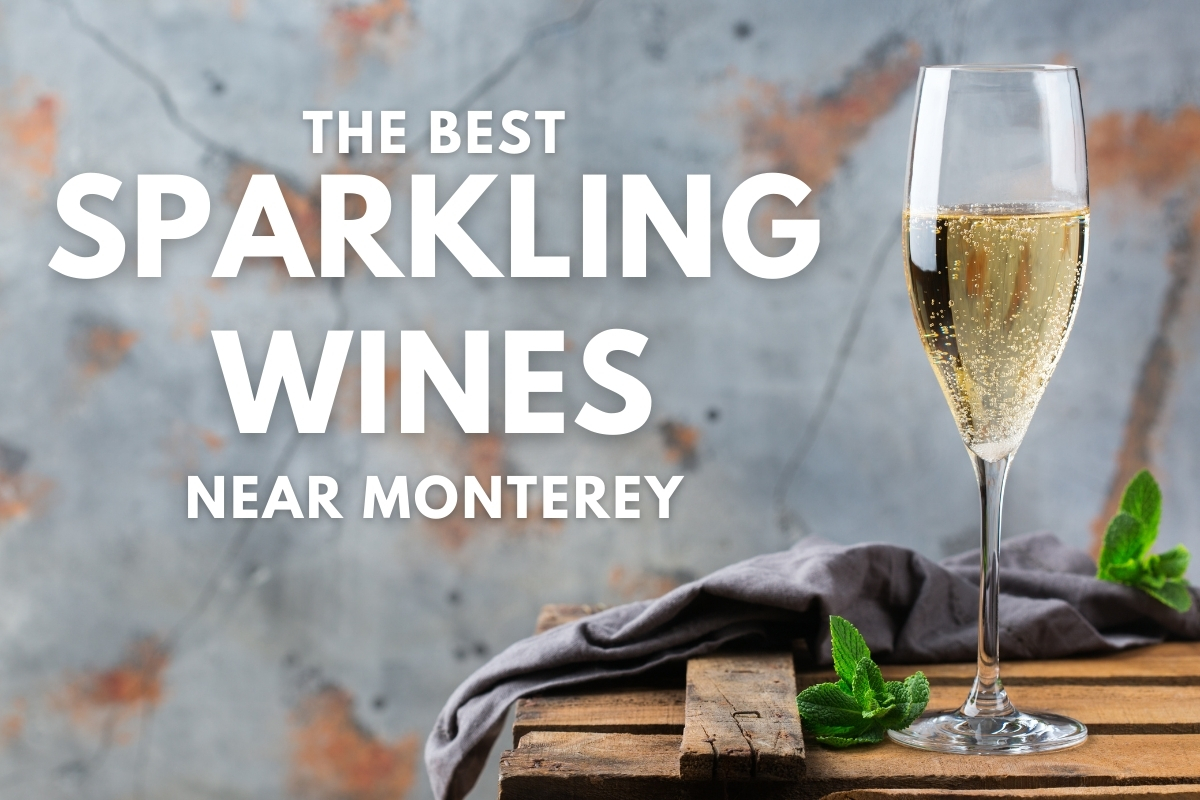 Glass of white wine - The Best Sparkling Wines Near Monterey