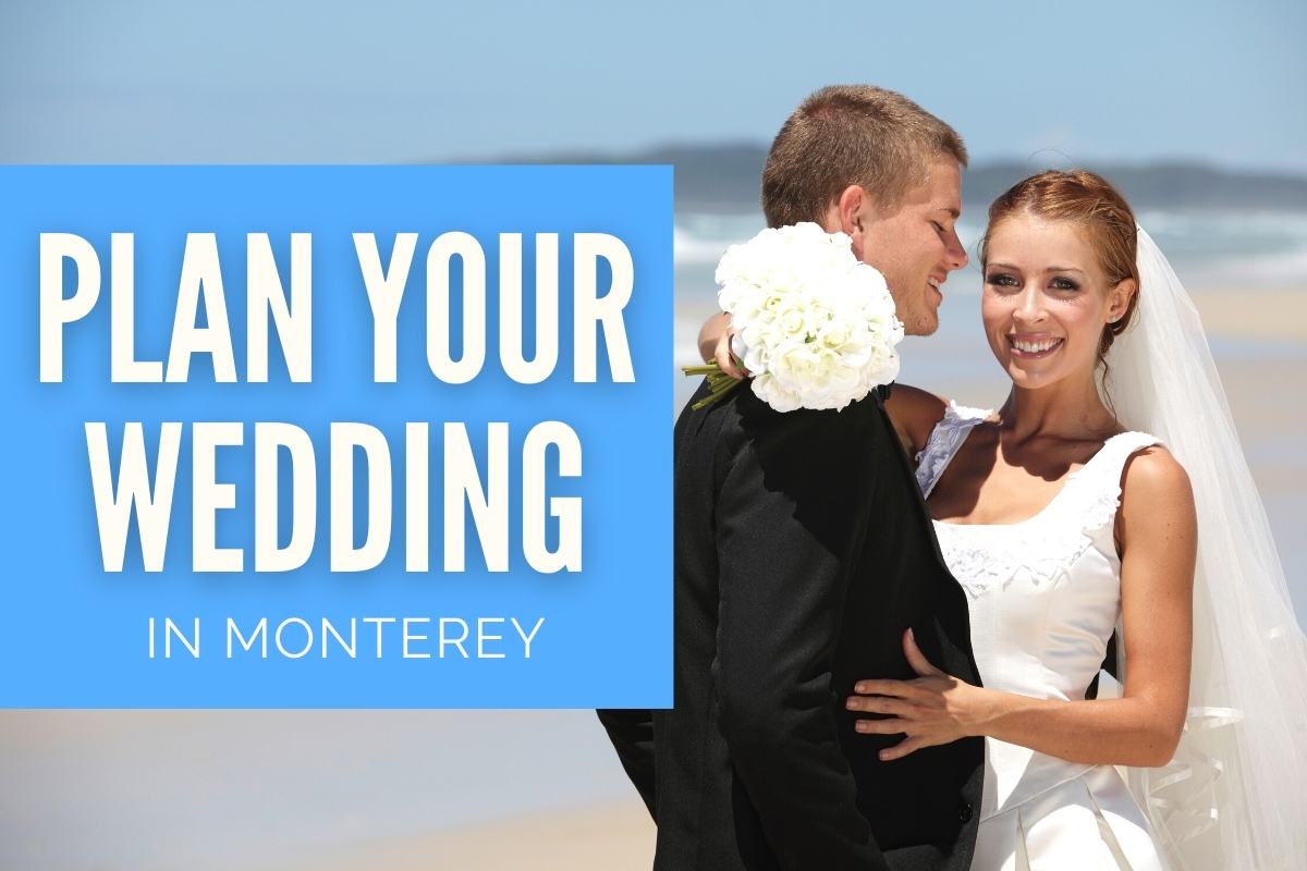 Married couple at the beach - Plan your Wedding in Monterey