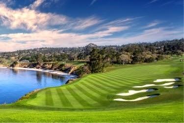 Pebble Beach Golf Links View