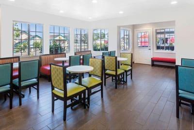 Ramada Monterey Breakfast Area