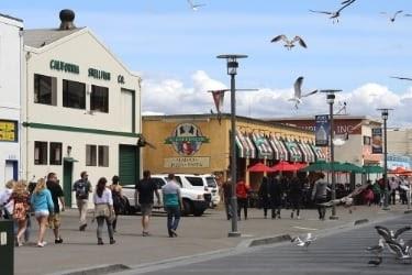 Street View near Fisherman's Wharf