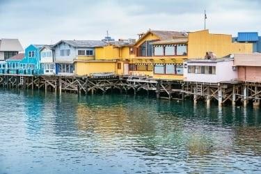 Fisherman's Wharf at Monterey CA