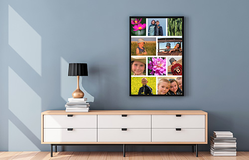 Vertical Collage Prints