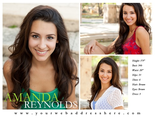 Comp Cards Printing