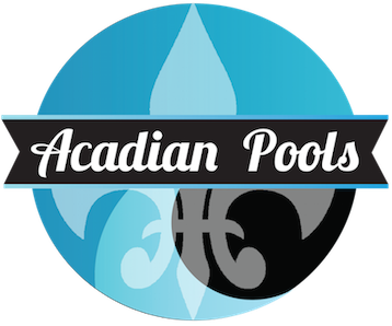 Acadian Pools Logo